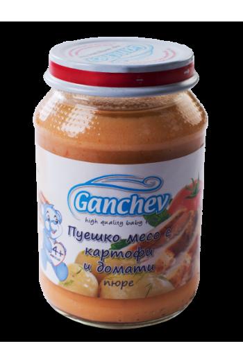 Ганчев Пуешко с картофи и домати 190г. - Ganchev