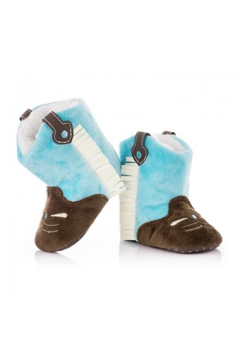 Топли бебешки Боти - Сини