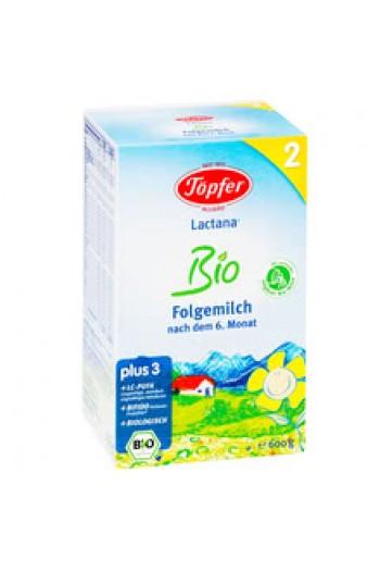 Лактана Био Мляко Преходно 2 - 600г. - Лактана