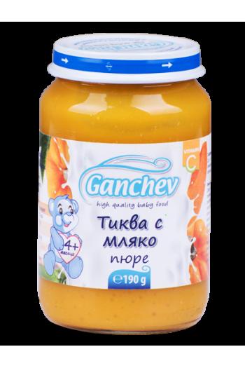 Ганчев Тиква с мляко 190гр. - Ganchev